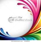 stock vector a splash of various colors background design for your text find more colorful illustrations in 34382839