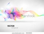 stock vector colorful surface vector abstract background with abstract flower 55039069